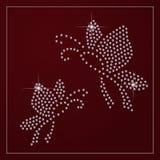 Diamond branding identity. Stock Image