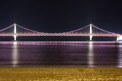 Diamond Bridge - Busan (Gwangdaegyo) Lizenzfreie Stockbilder