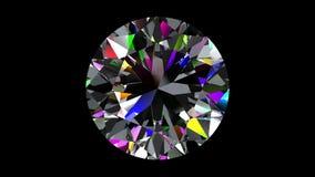 Diamond Brilliant kretsat Alfabetiskmatte arkivfilmer