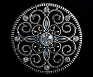 Diamond Brooch Stockbild