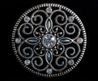 Diamond Brooch Imagem de Stock