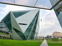 Diamond Building dell'istituto universitario di Rangsit dell'università di Bangkok Immagine Stock Libera da Diritti