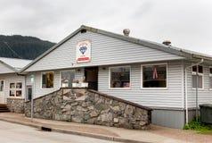 Diamond Cafe in Front Street, Wrangell Stock Fotografie