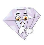 Diamond cartoon Stock Photos