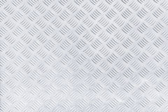 Diamond checker plate metal texture Royalty Free Stock Photography