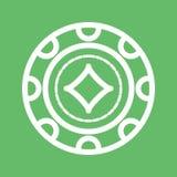 Diamond Chip Photographie stock libre de droits