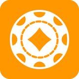 Diamond Chip Image libre de droits