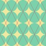 Diamond and circles texture Stock Photos