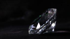 Diamond. Close up of a white diamond stone stock video footage