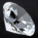 Diamond Closeup Stock Photography