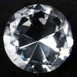 Diamond closeup Royalty Free Stock Image