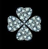 Diamond Clover Royalty Free Stock Photo