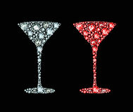 Diamond Cocktail Royalty Free Stock Image