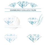 Diamond collection Stock Images