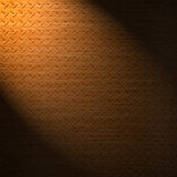Diamond copper plate surface background Royalty Free Stock Photos