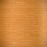 Diamond copper plate surface background Royalty Free Stock Photo