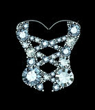 Diamond Corset Stock Photos
