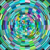 Diamond creative abstract background. Diamond like creative colorful abstract image with gradiant circles, abstract background and design vector illustration