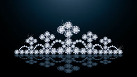 Diamond crown Royalty Free Stock Photography