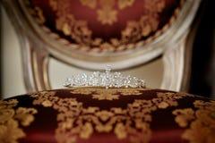 Diamond crown Stock Image