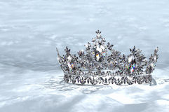 Diamond Crown Royalty Free Stock Photos