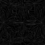 Diamond Crystal Geometric Pattern Structure Vector Photo libre de droits
