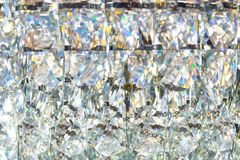 Diamond crystal glass reflect texture pattern luxury royalty free stock images