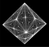 Diamond Crystal Vector Photographie stock libre de droits