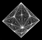 Diamond Crystal Vector. Diamond Crystal Isolated Illustration Vector Royalty Free Stock Photography