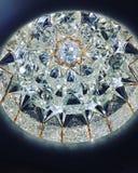 Diamond Crystals Foto de archivo libre de regalías