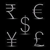 Diamond Currency Royalty Free Stock Images