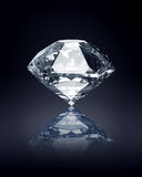 Diamond on dark background Stock Photos