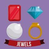 Diamond design. Stock Photo