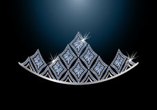 Diamond diadem Royalty Free Stock Image