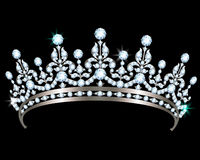 Diamond diadem Stock Photography