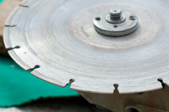 Diamond disc for angle grinders Stock Photography