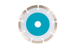 Diamond disc for concrete Stock Photography