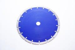 Diamond disc isolated on white background. Diamond disc. Object isolated on white background Stock Photos
