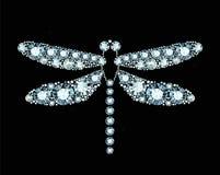 Diamond Dragonfly Image libre de droits