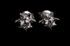 Diamond earing Stock Images