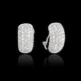 Diamond Earrings foto de stock royalty free