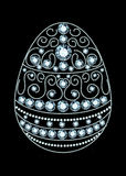 Diamond Easter Egg Royalty Free Stock Images