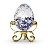 Diamond egg Royalty Free Stock Photos