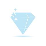 Diamond expensive color vector Stock Image