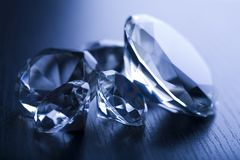 Diamond - expensive stone Stock Photos
