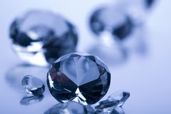 Diamond - expensive stone Royalty Free Stock Photo
