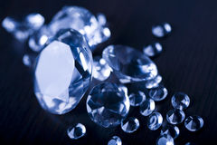 Diamond - expensive stone Stock Image