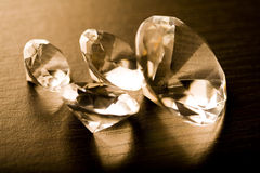 Diamond - expensive stone Stock Photography