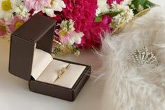Diamond floral tiara luxury Stock Photos