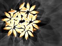 Diamond flower royalty free stock images